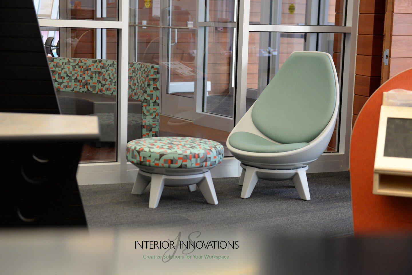 JS Interior Innovations Provides Furniture For Kusalaba Library Branch
