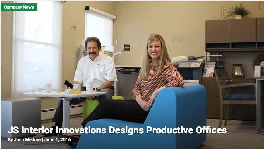 JS Interior Innovations Designs Productive Offices – Business Journal