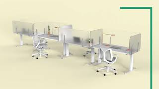 Desk Shields and Counter Shields to Protect Employees and your Customers